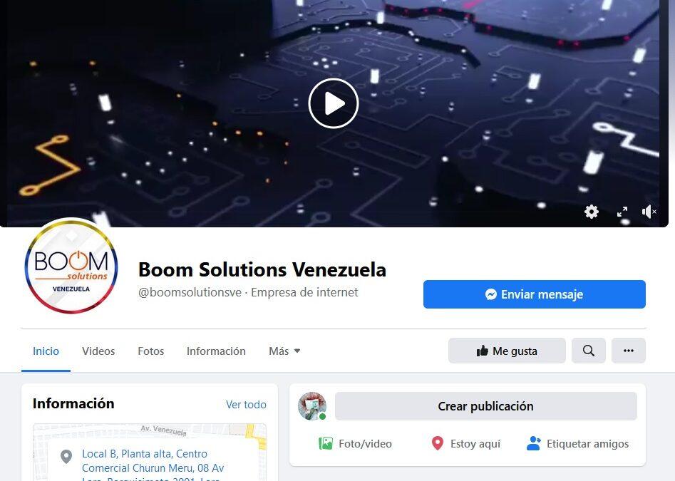 Boom Solutions | Empresa estafadora proveedora de internet en Venezuela