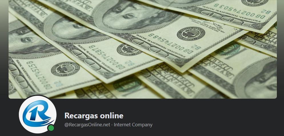 Página de Facebook Estafadora | Recargas Online (@RecargasOnline.net)